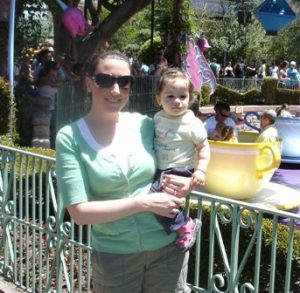 J's first trip to Disneyland over 7 years ago.