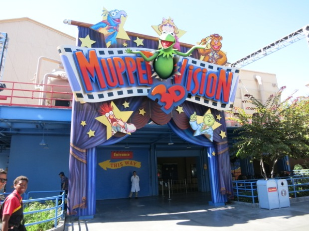 Entrance to the Muppet Show